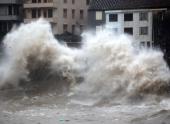 Из-за тайфуна в Китае пострадали 560 тысяч человек