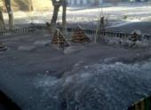 Жителей Темиртау обеспокоил черный снег