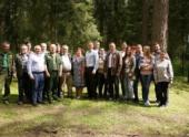 Сербские студенты перенимают опыт Можайских лесоводов