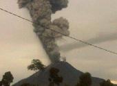 Вулкан в Индонезии выбросил пепел на высоту 7 км