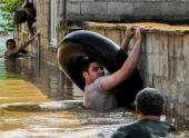 В восточной части Грузии в результате наводнения затоплены сотни жилых домов