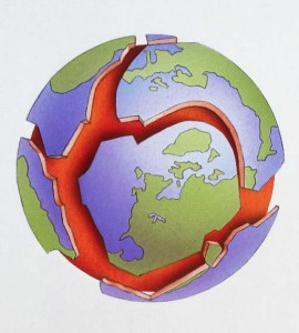 Тектоника литосферных плит Земли