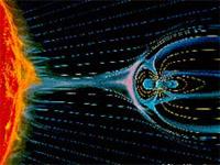 В сторону Земли движется высокоскоростной поток солнечного ветра