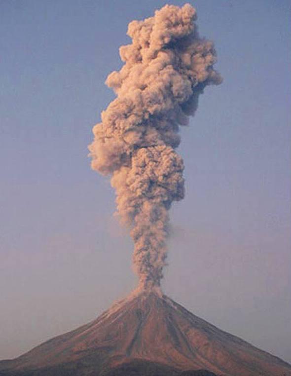 Вулкан Колима (Халиско, Мексика)