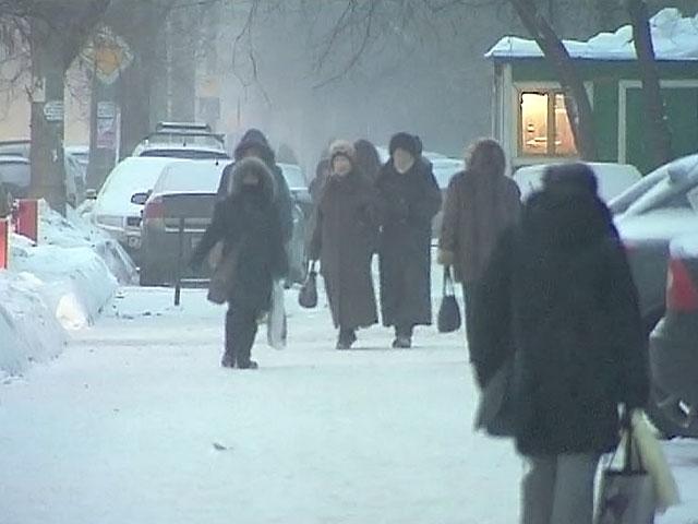 Россиян испытывают на прочность морозы и магнитная буря