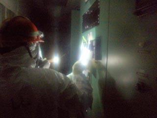 На аварийной АЭС. Фото: Reuters