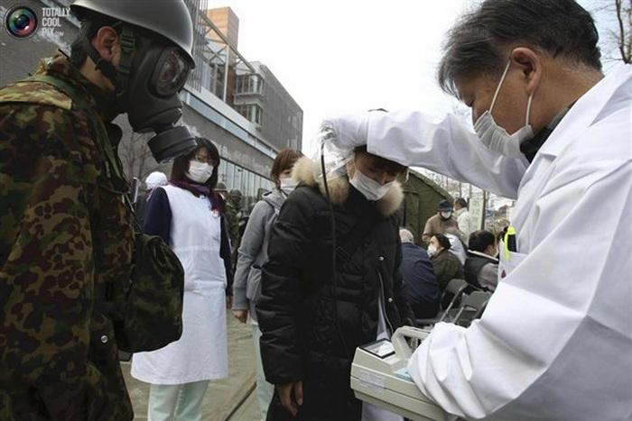 Японская радиация приближается к