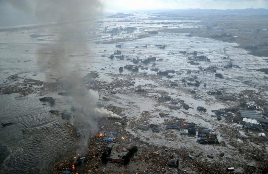 Мощное землетрясение в японии есть