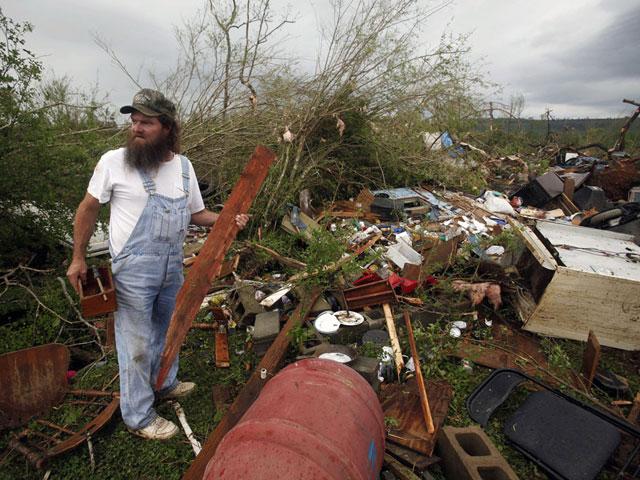 Разгул стихии на юге США