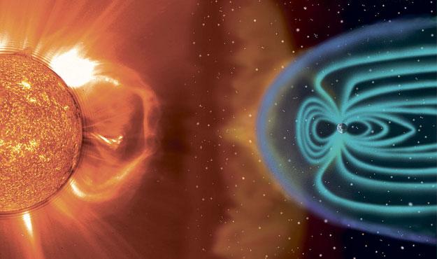 Солнечная активность в момент вспышки активирует целый ряд физико-химических процессов внутри Земл