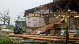 Штормовой циклон на юго-востоке США