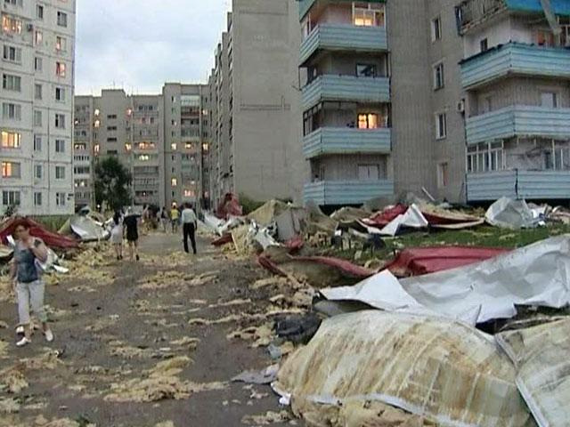 Во Франции назвали размер ущерба от ураганов за первую неделю января