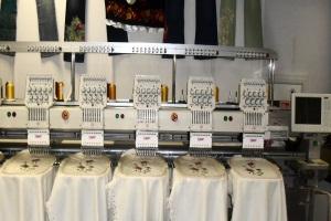 Немного о технике работы вышивального оборудования