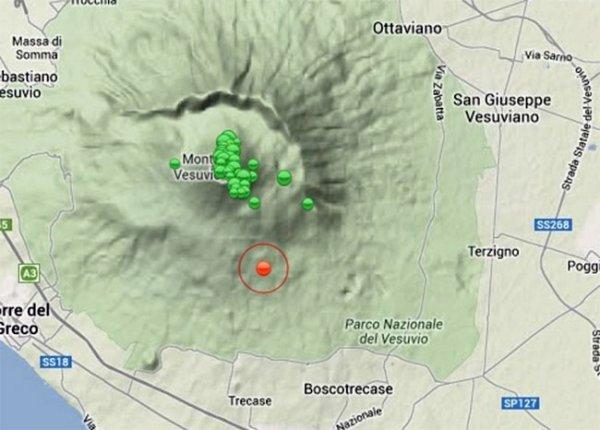 Вулкан Везувий начал подавать признаки жизни | Ecoss